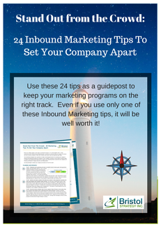 24 Inbound Marketing Tips to Set Your Company apart