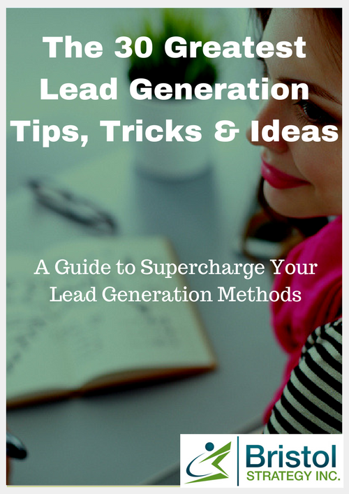 30 Greatest Lead Generation Tips Tricks and Ideas
