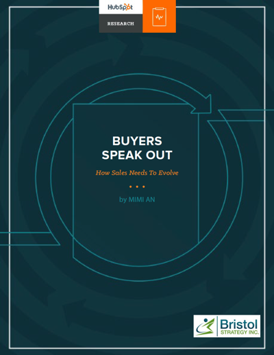 research report - buyers speak out about how sales must evolve in the digital world