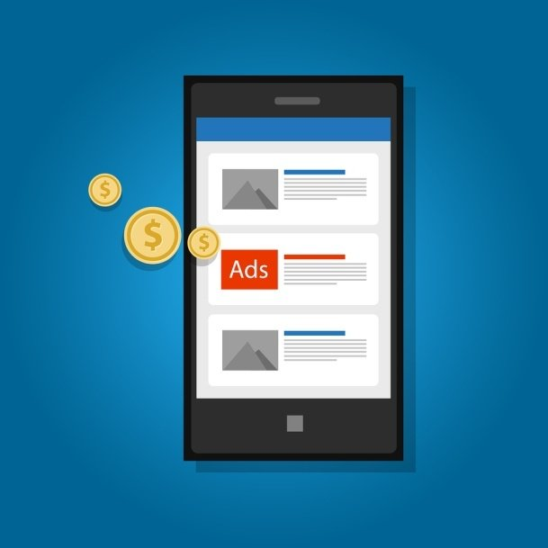 run advertisements on mobile devices