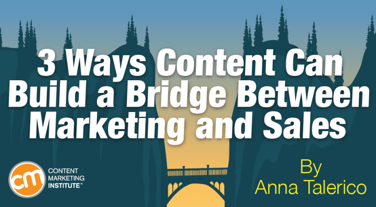 content bridge marketing sales