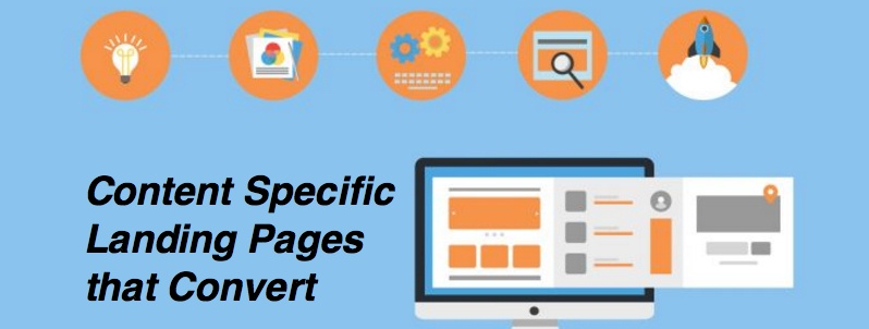 content specific landing pages that convert