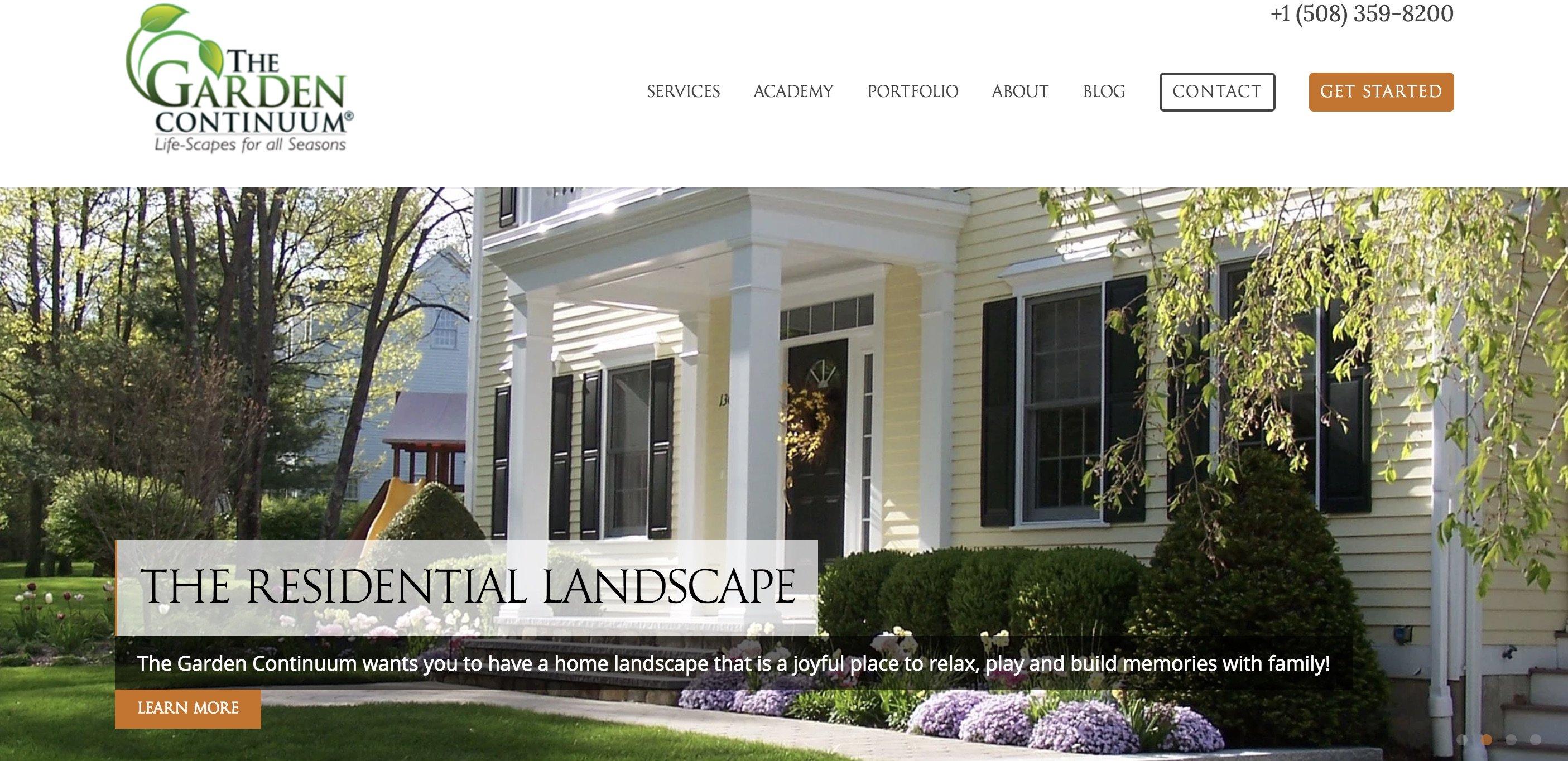 garden continuum Landscape Design and Fine Gardening