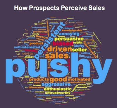 how prospects perceive sales