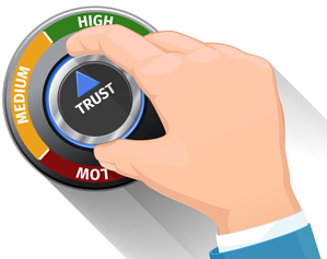 how sales reps can build trust