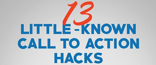 little known call-to-action hacks and where to use them