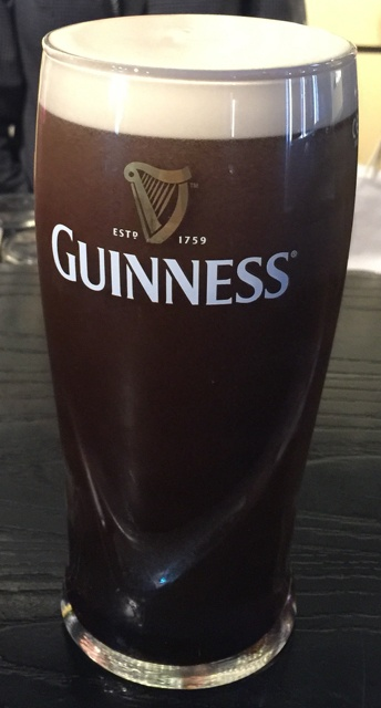 my perfect pour of a pint of guinness
