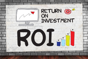 ROI landscape business advertisement