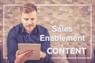 sales enablement content