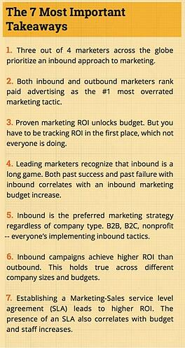 the 7 most important takeaways from the state of inbound marketing report 2015