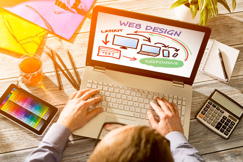 stunning modern website design