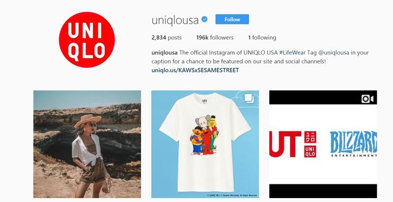 uniqolo social media campaign