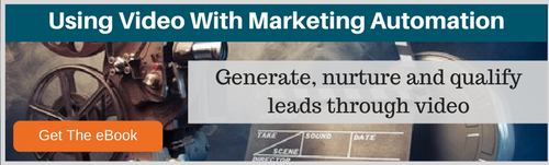 using video with marketing automation to generate nurture and qualify leads