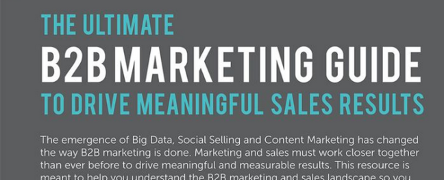 You Don't Need to be a Big Corporation to Have an Effective B2B Inbound Marketing Campaign