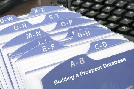 B2B Sales Lead Generation: Building a Database