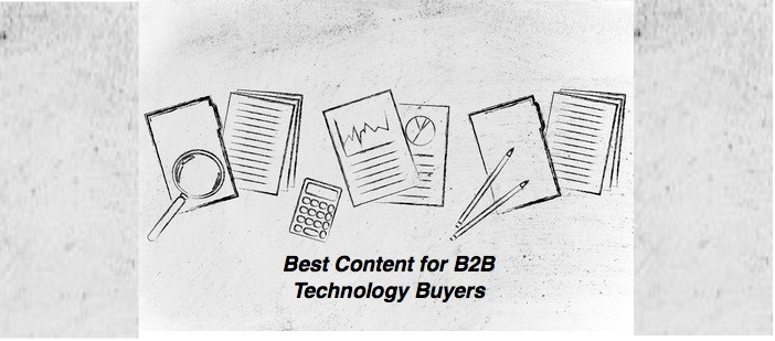 Learn the Best B2B Content for Tech Buyers