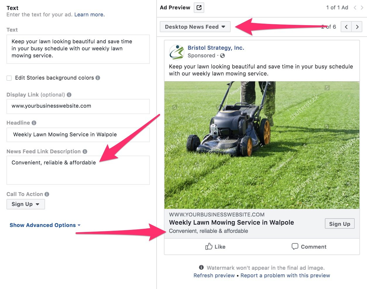 How to Advertise a Landscaping Business with Facebook